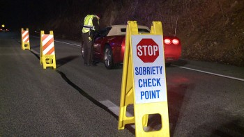 Maine OUI Sobriety Checkpoints
