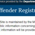 Maine Law:  Sex Offender Registration